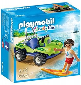 Playmobil Surfer et Dune Buggy