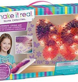 Création de ficelles et lumière papillon
