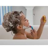 Alex Rasage dans le bain