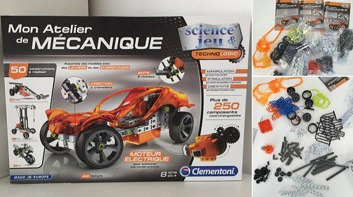 Clementoni Mon atelier de mécanique