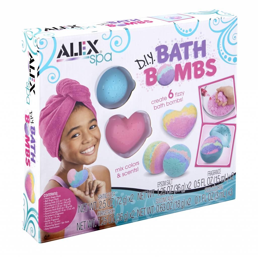 Alex Boules de bain à fabriquer toi-même DIY