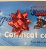 Certificat-cadeau de 25$