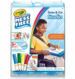 Crayola Crayola Color Wonder Mess Free Colouring Stow and Glo Studio