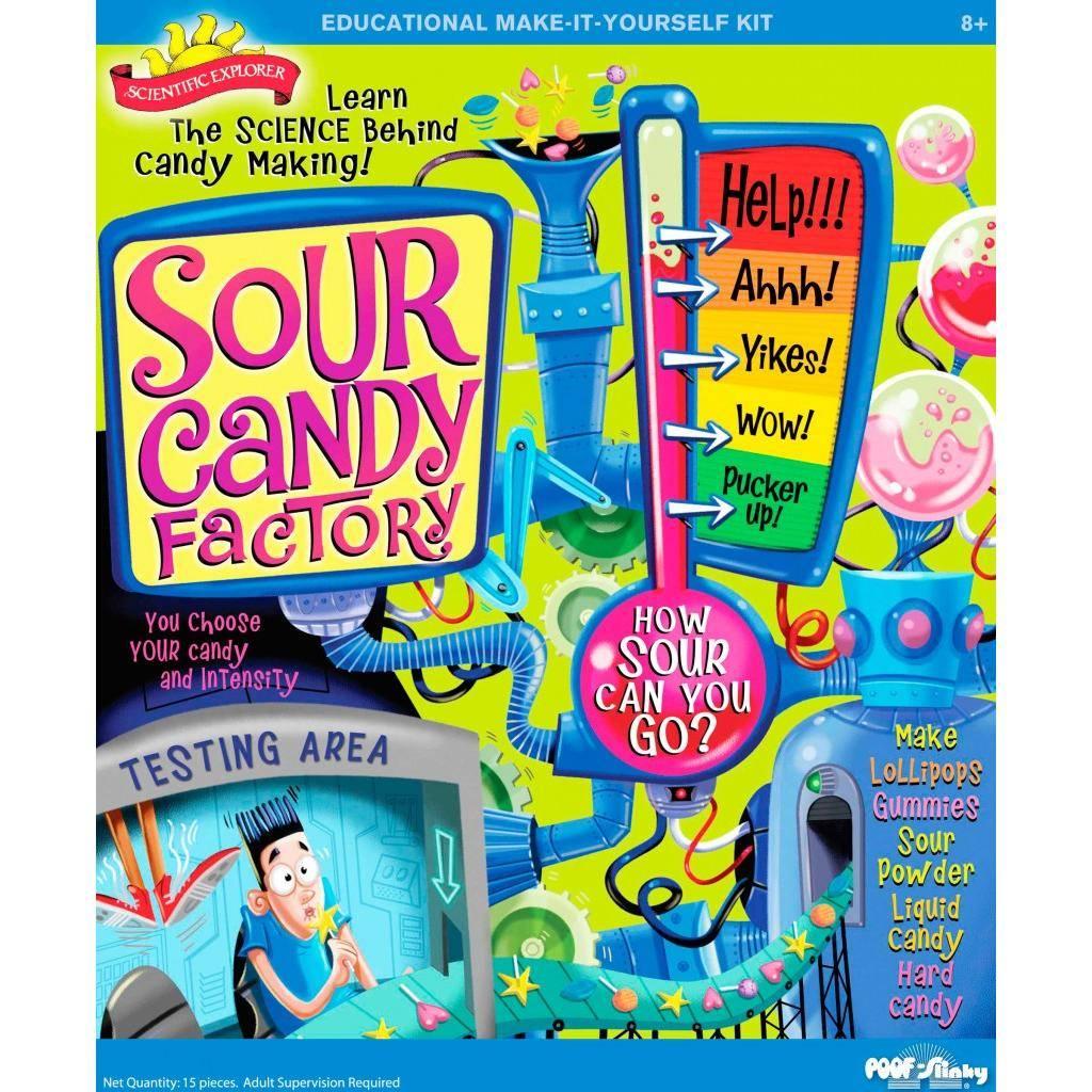 La fabrique de bonbons sûres