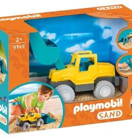 Playmobil Chargeur avec pelle   pour le carré de sable