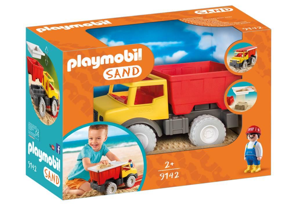 Playmobil Camion tombereau avec seau