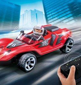 Playmobil Voiture de course rouge télécommandée