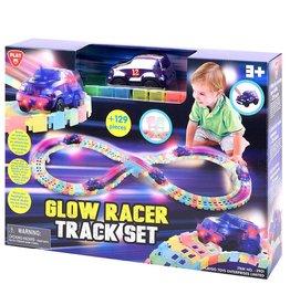 Playgo Piste de course lumineuse néon