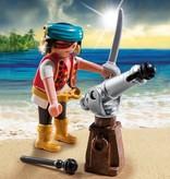 Playmobil Figurine de canonnier pirate