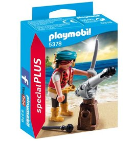 Playmobil Figurine de canonnier pirate