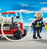 Playmobil Chef pompier et sa voiture