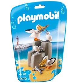 Playmobil Famille de pélicans