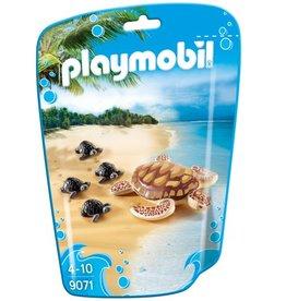Playmobil Tortue de mer et ses petits