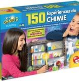 Petit génie -Kit de 150 expériences de chimie