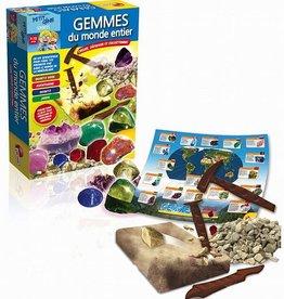 Petit génie - Les minéraux du monde entier