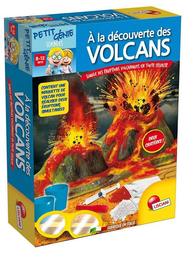 Petit génie - Découvre les volcans