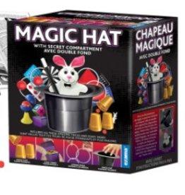Ezama Ensemble 125 tours de magie avec chapeau magique