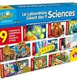 Petit génie - Le laboratoire géant des 9 sciences