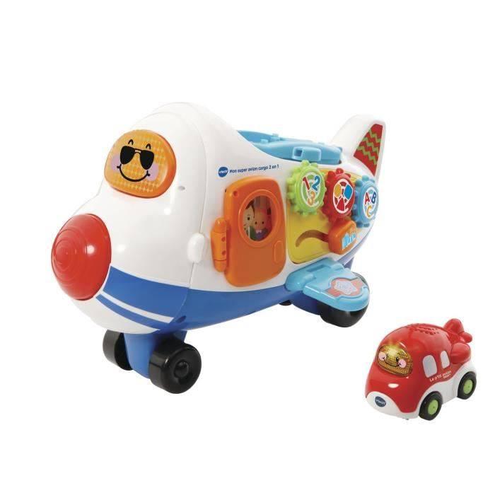Vtech Tut Tut bolides - Mon super avion cargo 2 en 1