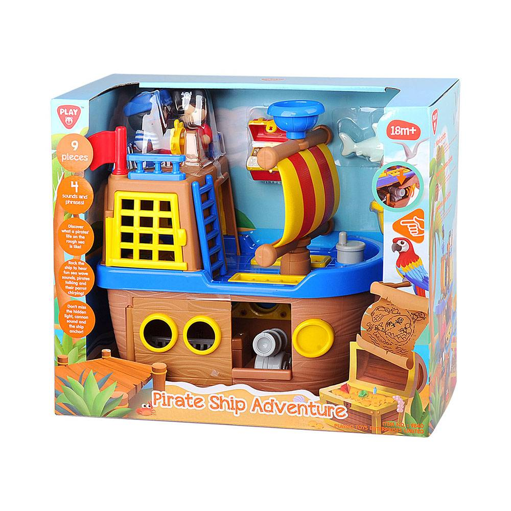 Playgo Happy Collection-Bateau de Pirate