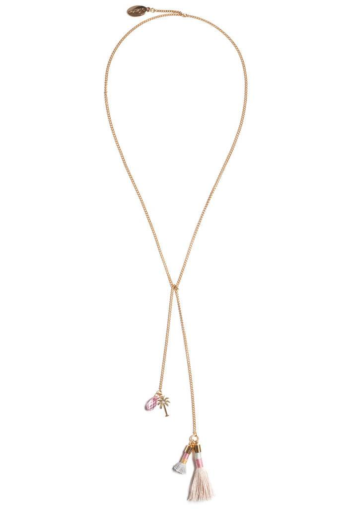 Luxetto LYCO - Collier Argent
