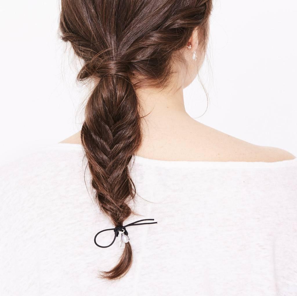 Luxetto Hair Elastic- Black