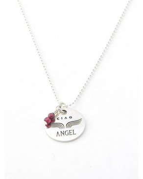 Ciao Angel Collier Médaille Merci Angel