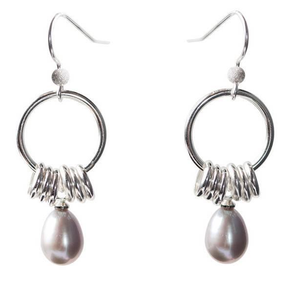 Luxetto AIKO - Genuine Grey Pearls
