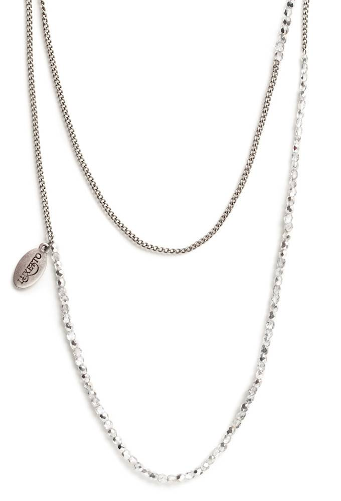 Luxetto ALINA - Grey Necklace