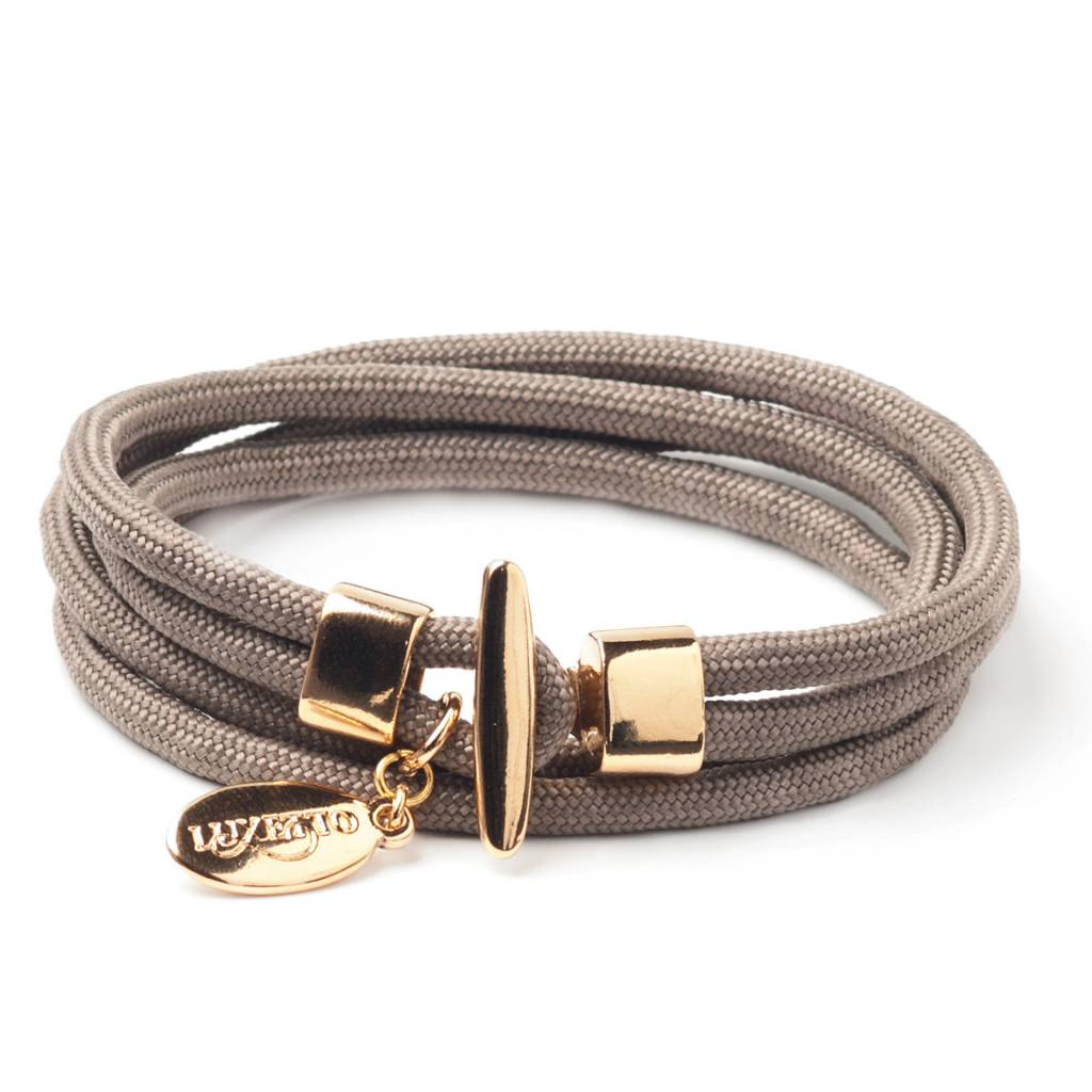 Luxetto NEXI - Taupe Rope