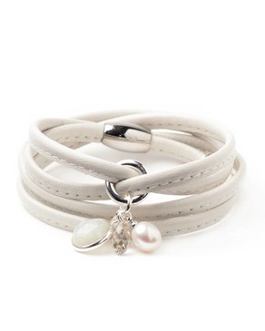 Luxetto ALLIE - Off-white Bracelet