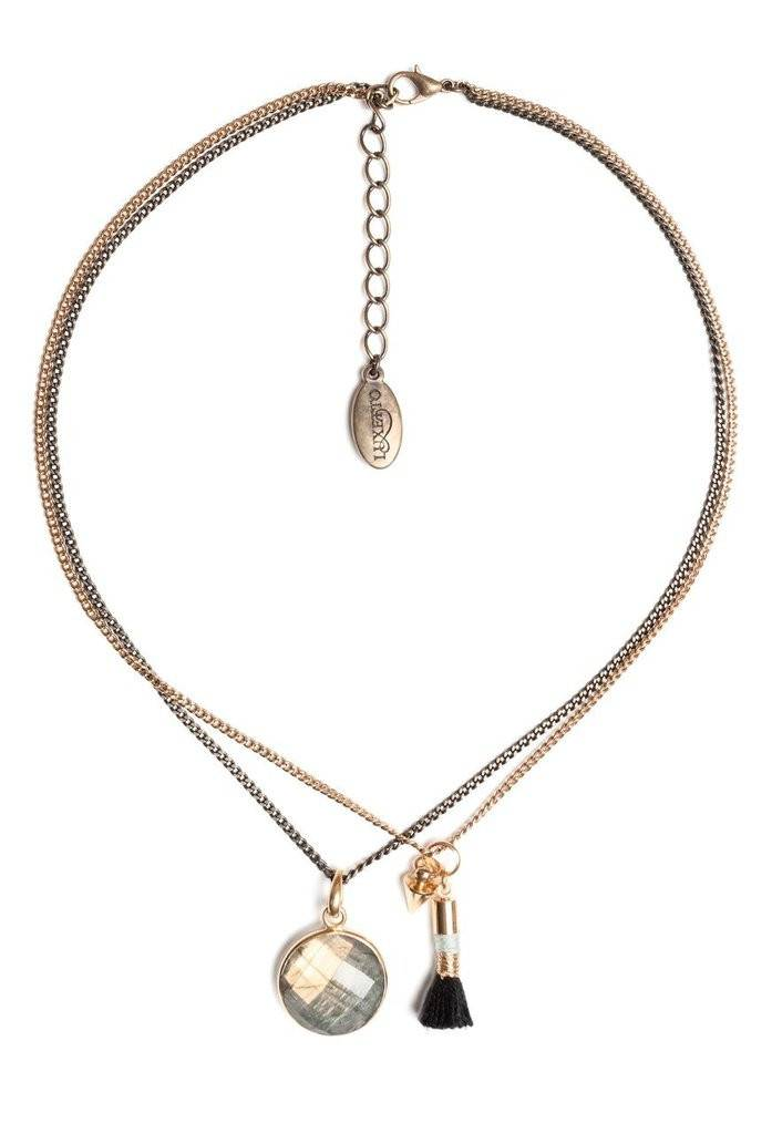 Luxetto LABRADORIE -  14ct Gold Necklace