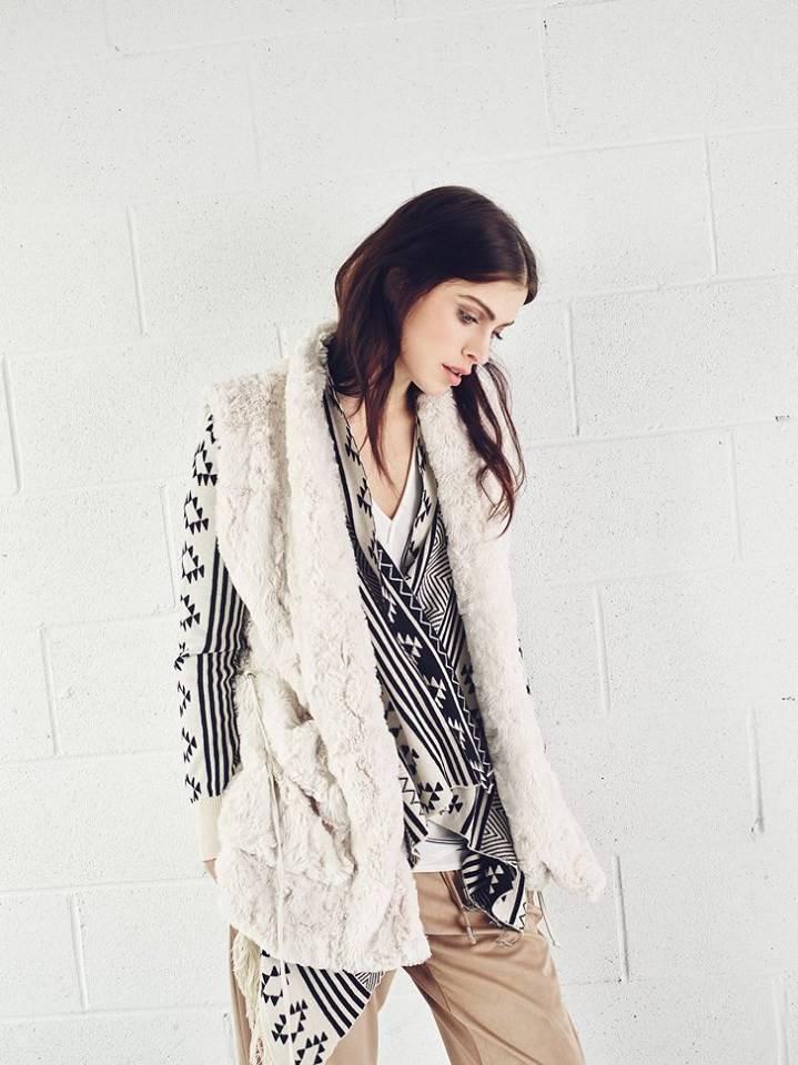 Melissa Nepton JANA - Faux Fur Vest