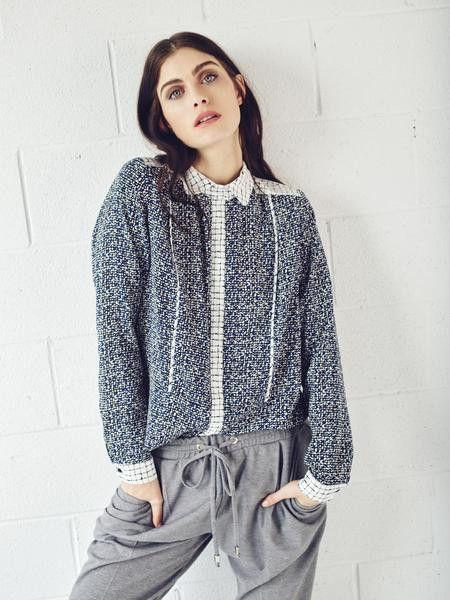Melissa Nepton ELIZABETH - Long Sleeves Blouse