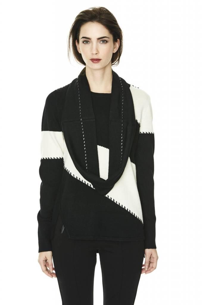 Melissa Nepton DAFNY - Colour Block Sweater