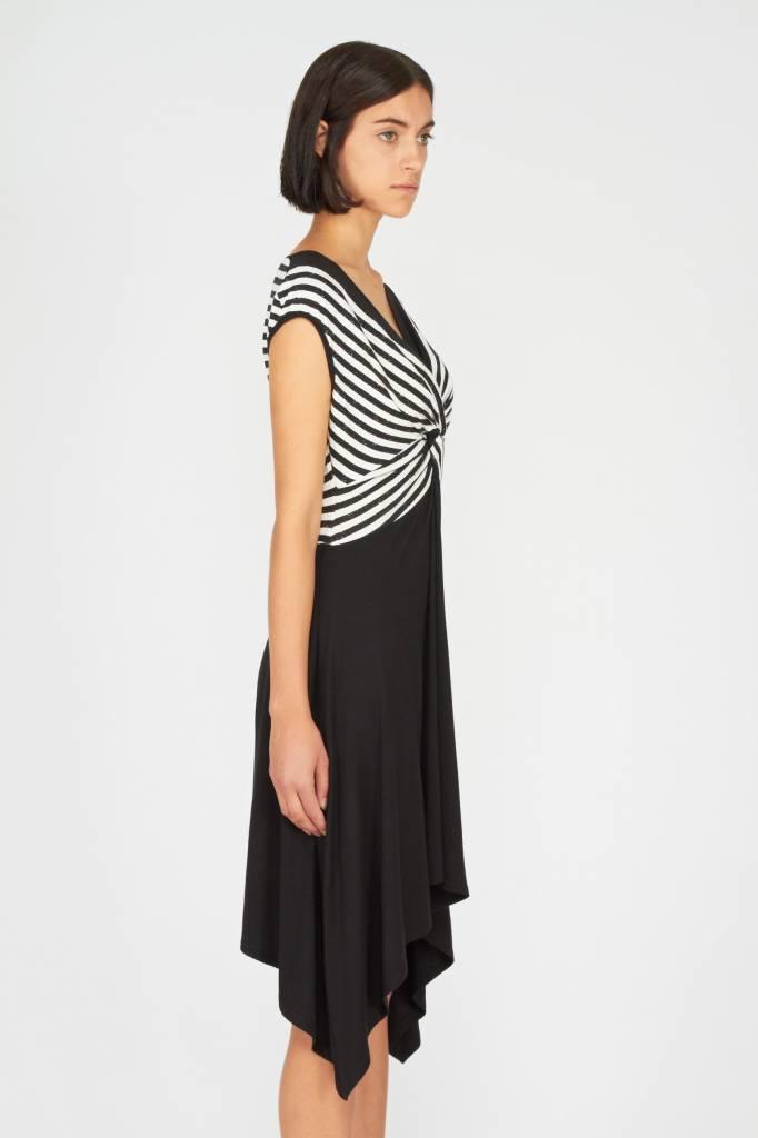 Melissa Nepton LIVIA - Dress (Black and Off-White)