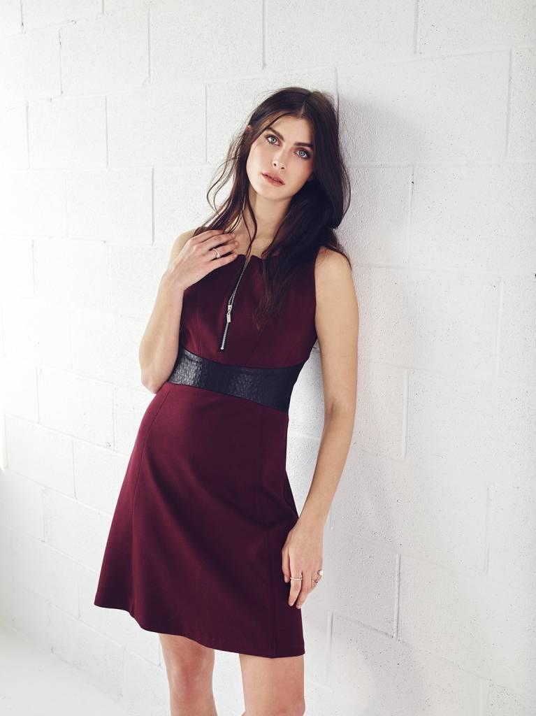 Melissa Nepton JOSH - Dress With Zipped Front