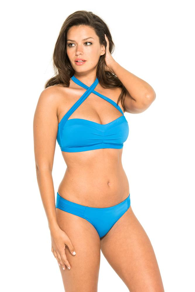 Everyday Sunday Bandeau Multi-Façons Signature (Bleu)