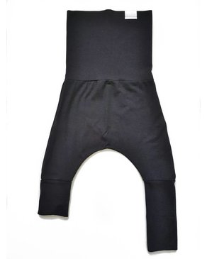 Kid's Stuff Grow-With-Me Harem Pants (Black)