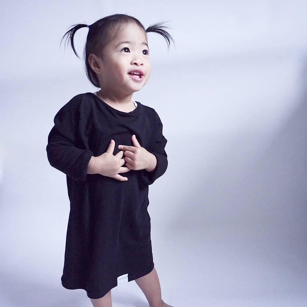 Kid's Stuff Grow-With-Me Sweater (Black)