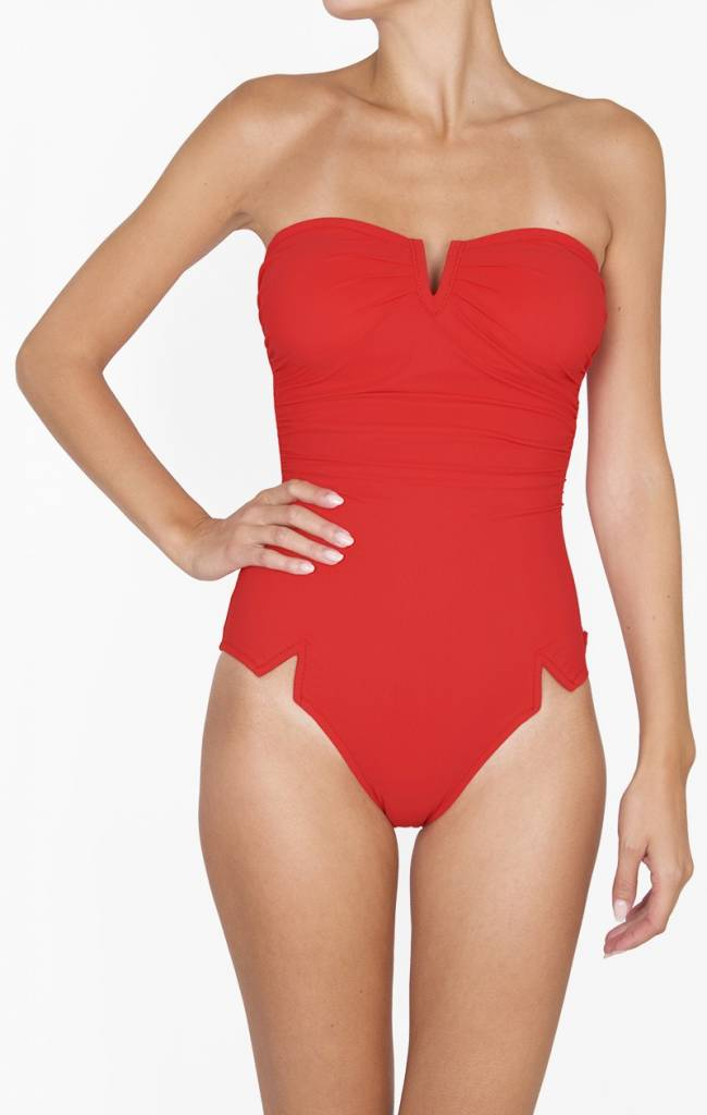 SHAN SHAN BRIGHT LIKE A DIAMOND - One Piece Swimsuit (Red)