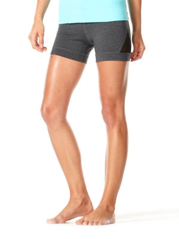 Karma Athletics ERICA - Shorts (Heather Charcoal)