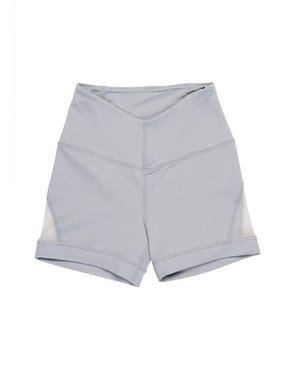 Karma Athletics ERICA - Shorts (Heather Chromium Grey)