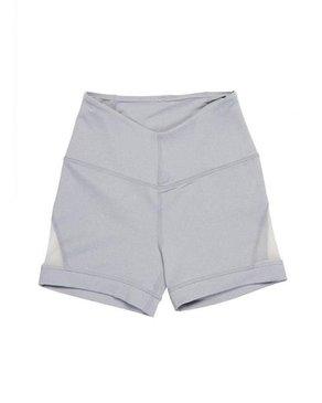 Karma Athletics ERICA - Shorts (Heather Chromium Grey)