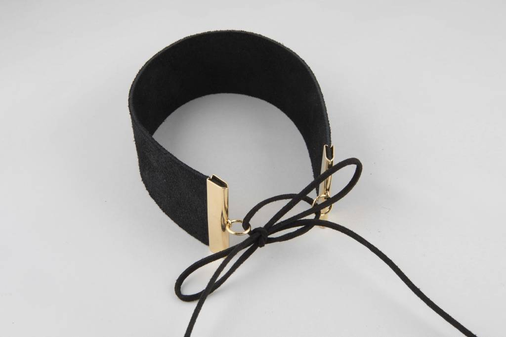 Atelier SYP LUX HARDWARE - Choker (Black and Gold)