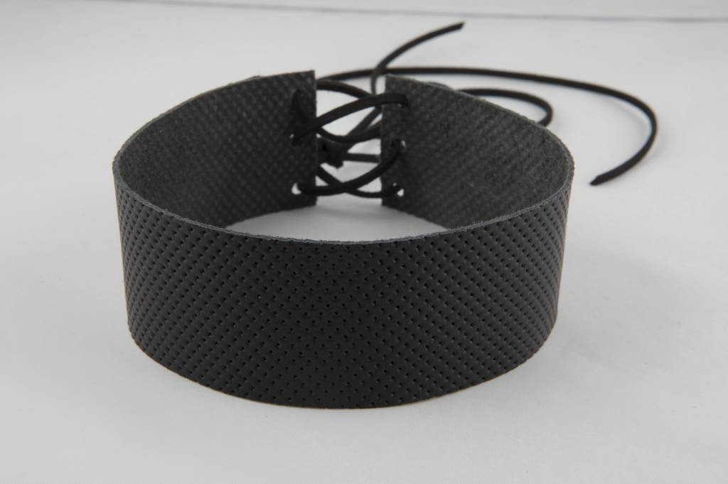 Atelier SYP LUX ITALIAN PERFORATED - Choker (Noir)