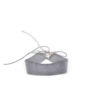 Atelier SYP VINTAGE VELOURS - Choker (Grey)