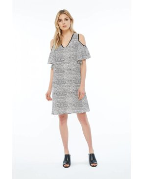 Melissa Nepton DERKEN - Dress (Black and Off-White)
