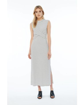 Melissa Nepton BEECH - Maxi Dress (Black and Off-White)