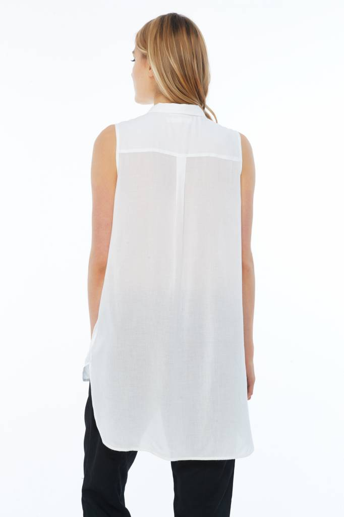 Melissa Nepton ARLET - Tunic Shirt (Off-White)